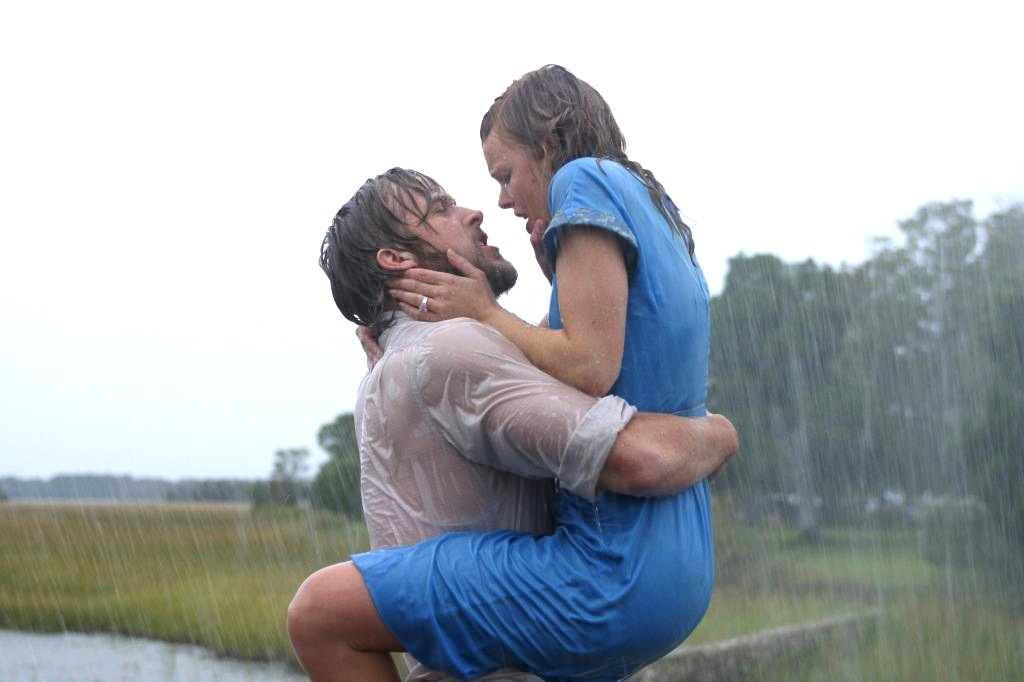 the notebook - rain
