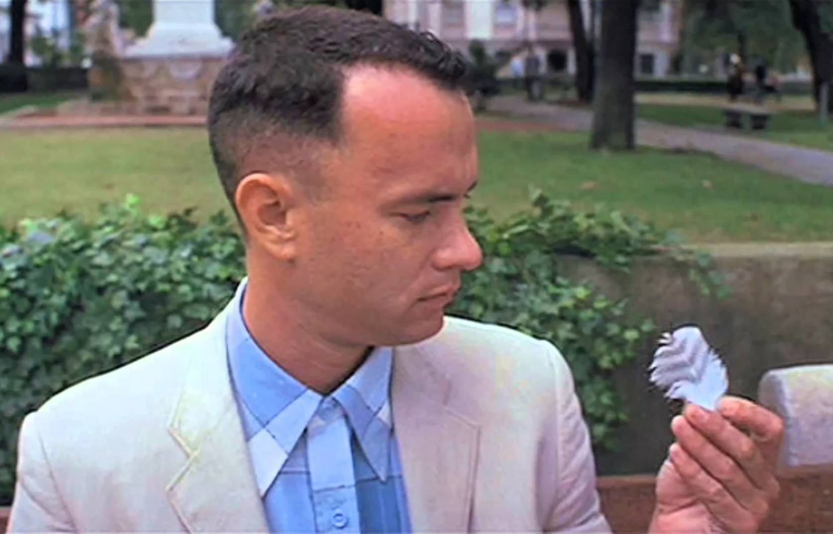 gump feather