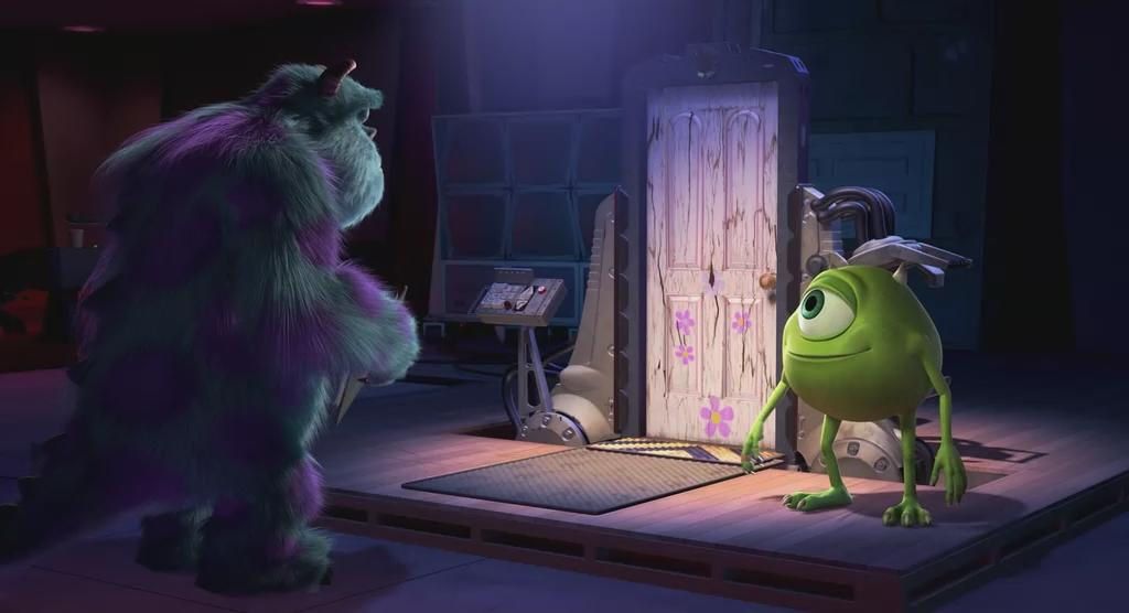 monsters inc door