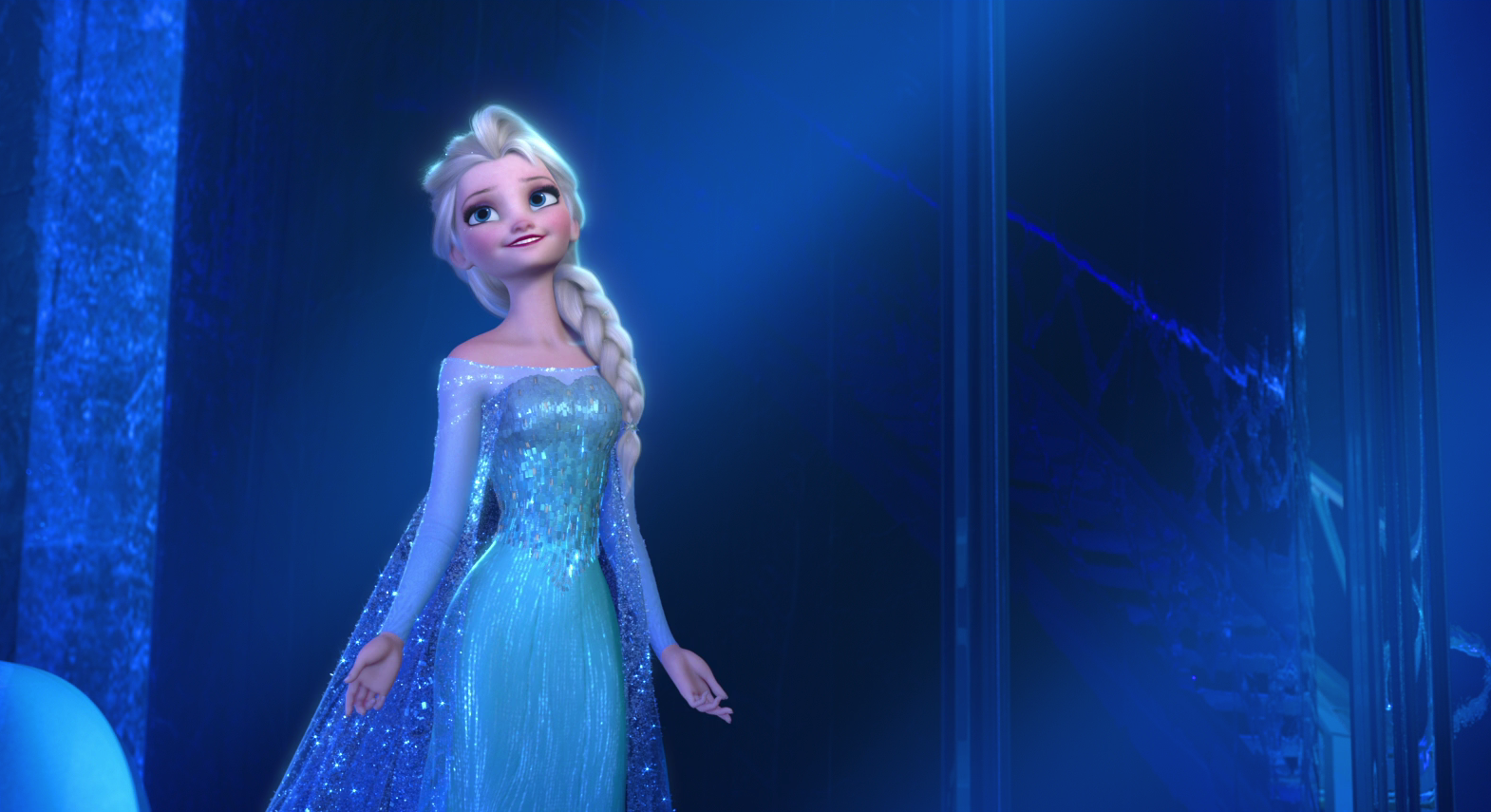 Frozen - Elsa happy