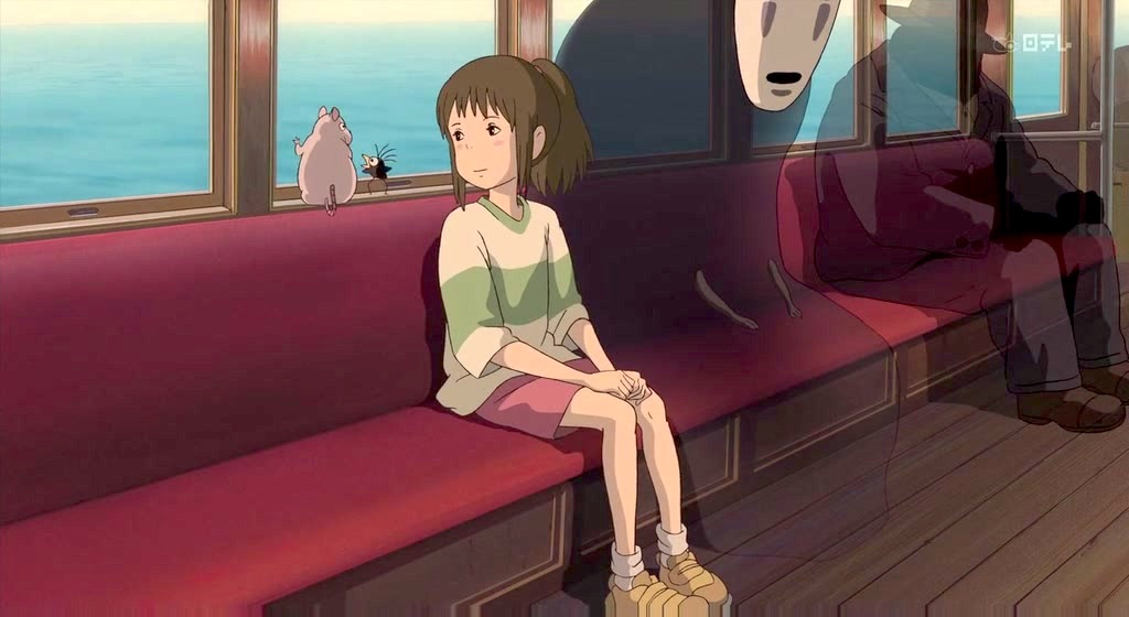Spirited Away - Train