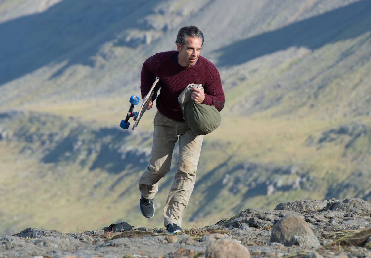 Walter Mitty - climb