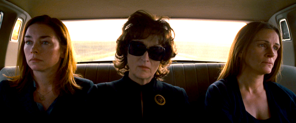 August Osage County - car