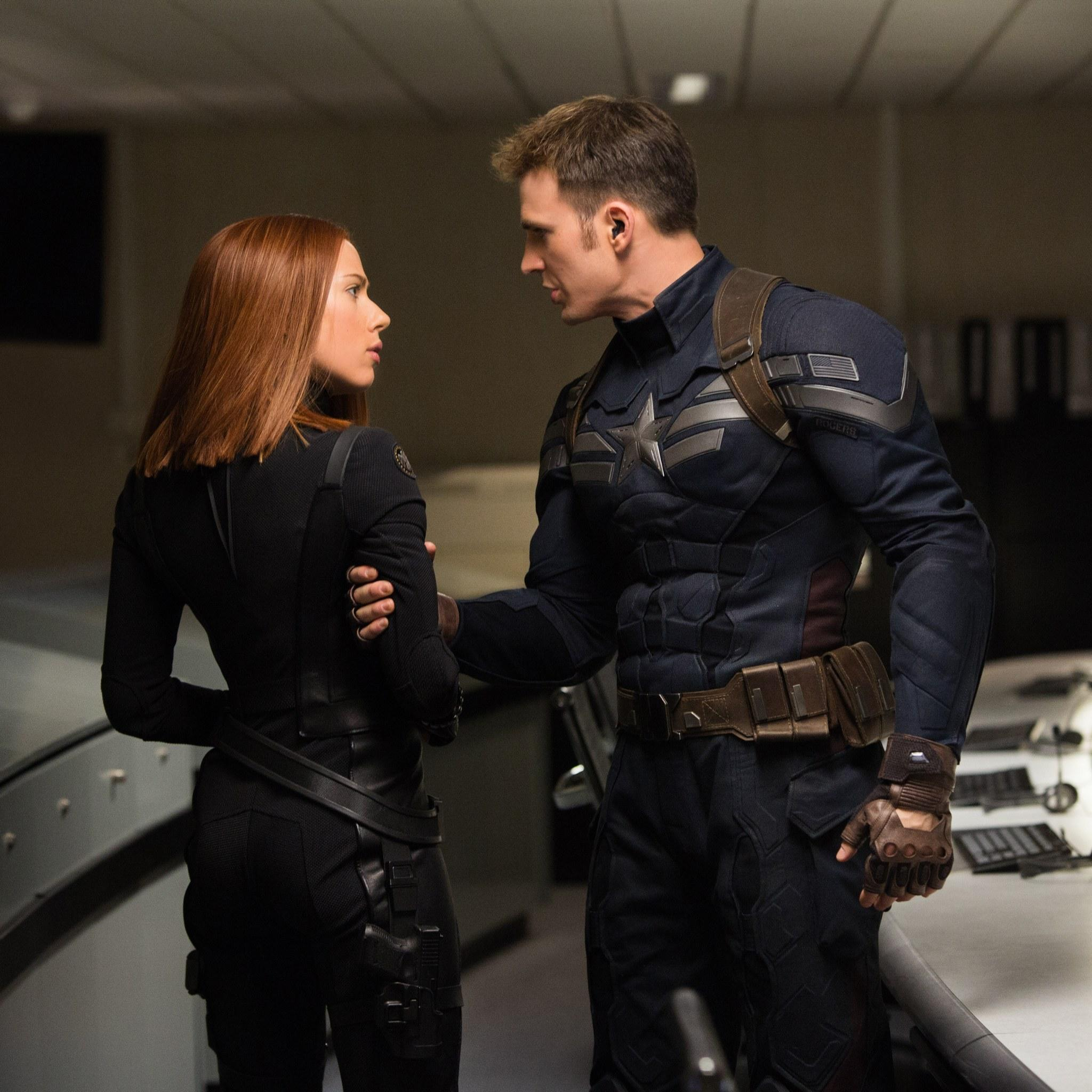 Captain America 2 - grab