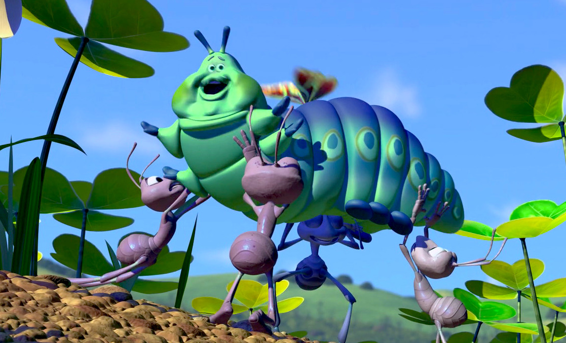 A Bug's Life - butterfly