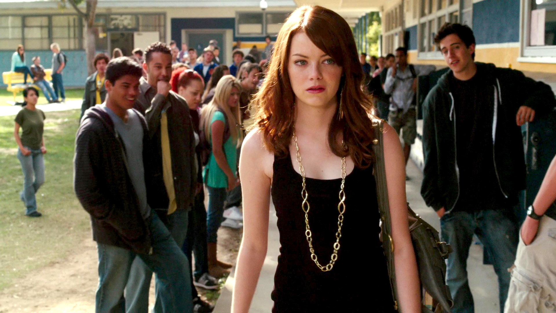 Easy A - crowd