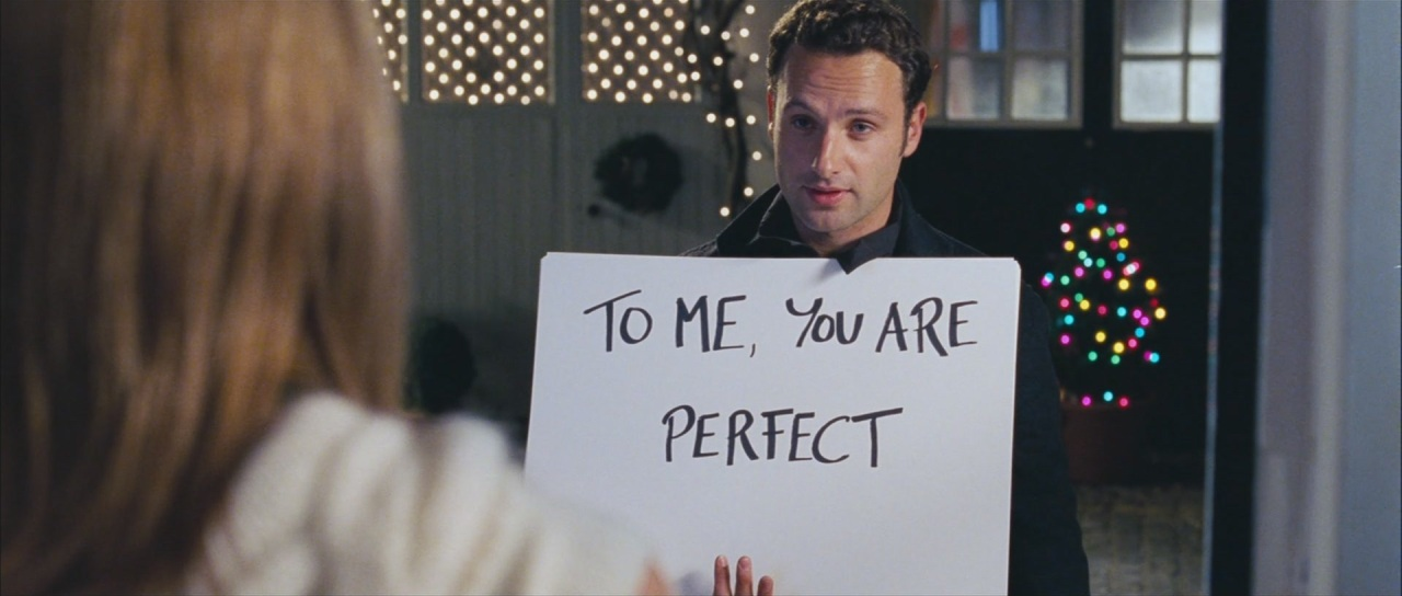 love actually - sign