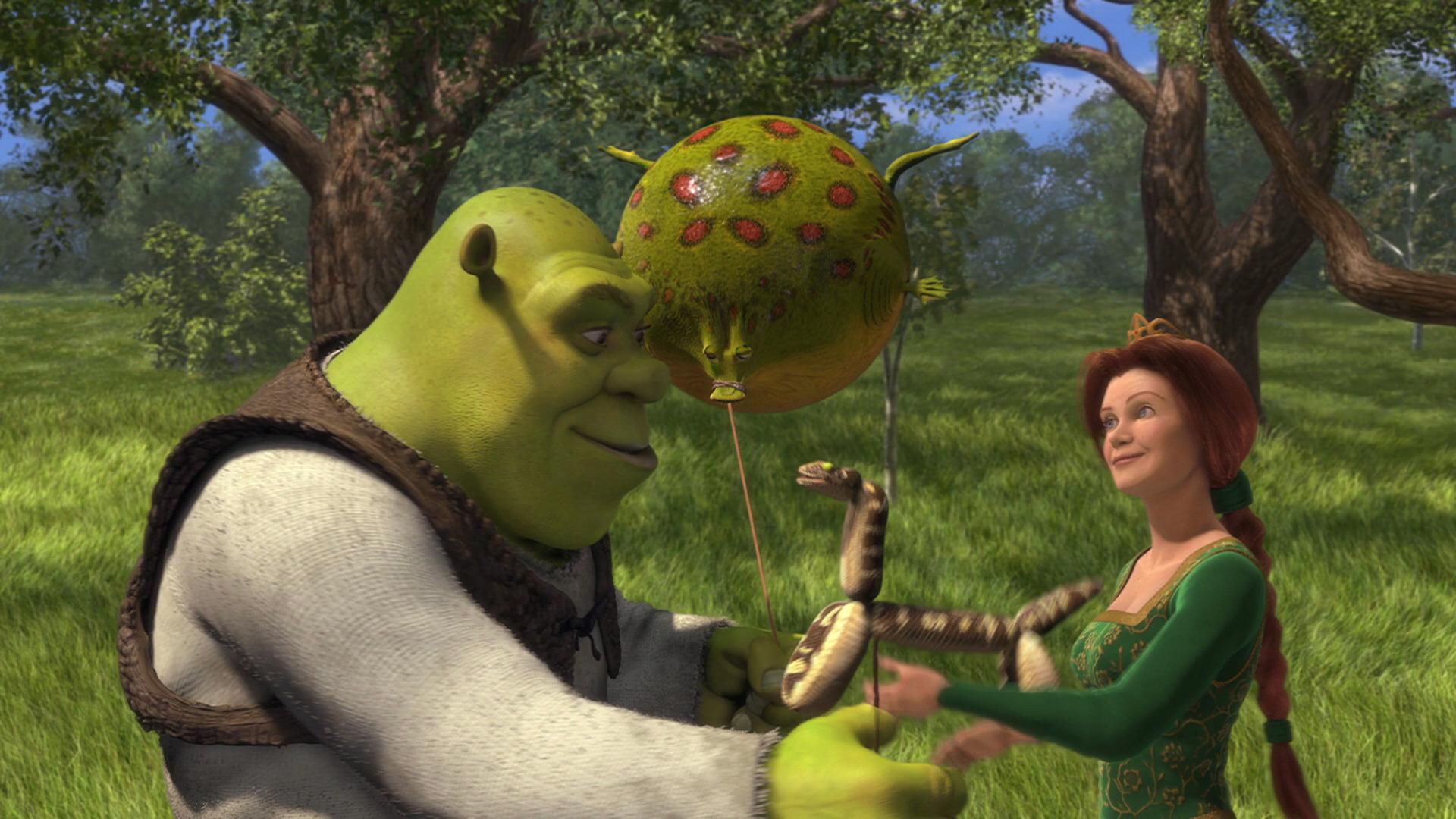Shrek - balloons