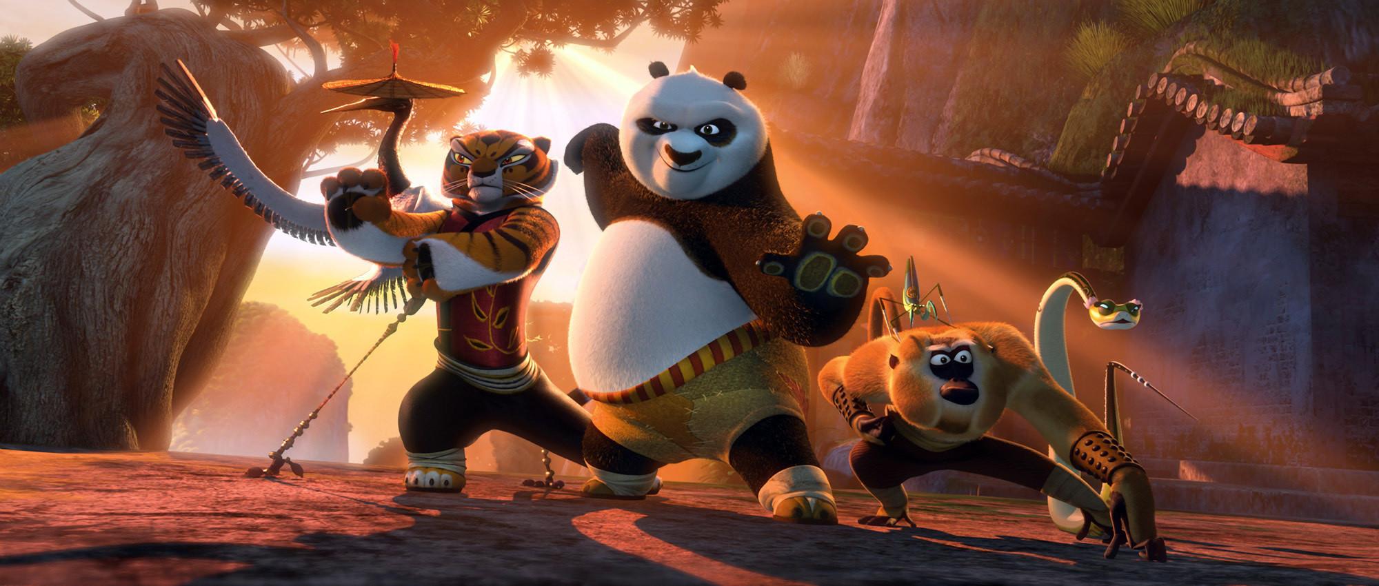Kung Fu Panda - group