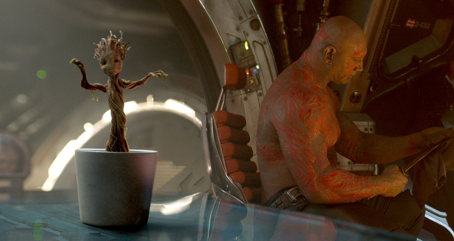 Guardians of the Galaxy - groot dancing