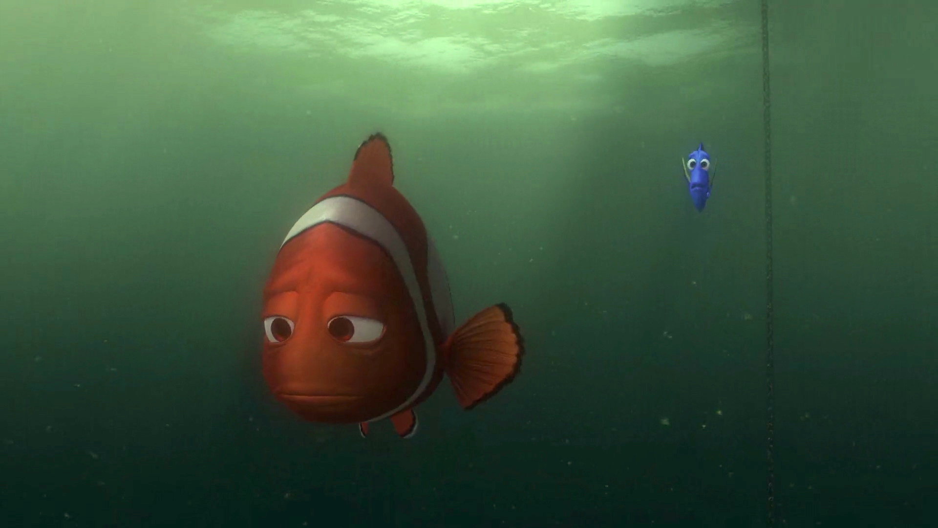 Finding Nemo - give up