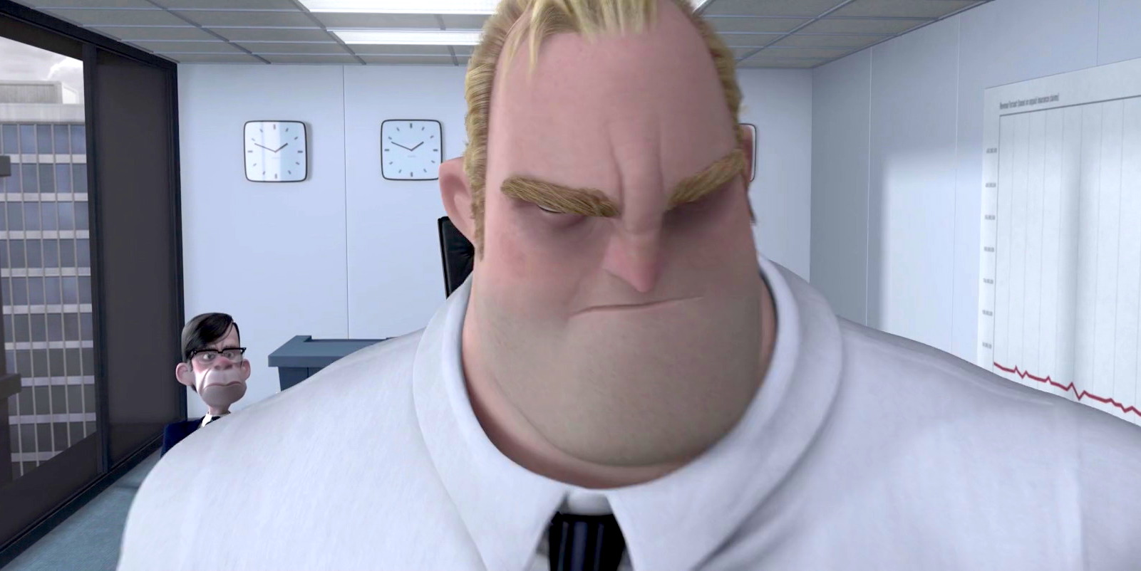 The Incredibles - Angry