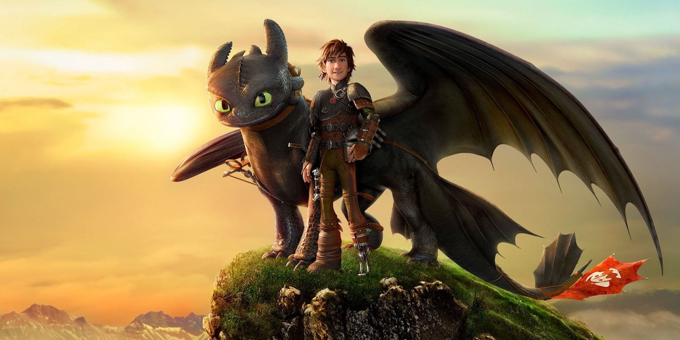 How to Train Your Dragon 2 - couple